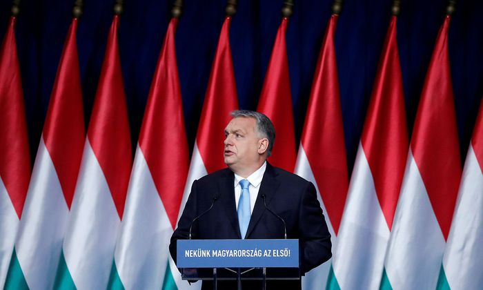 Hungary PM Orban delivers annual state of the nation address