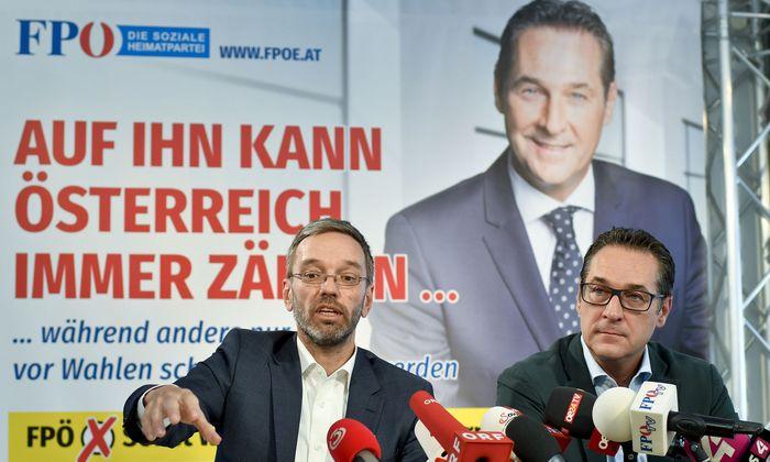 FPÖ-PRESSEKONFERENZ: STRACHE / KICKL