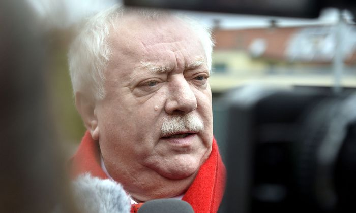 Wiens Bürgermeister Michael Häupl vor Beginn der SPÖ-Präsidiumsklausur am Montag