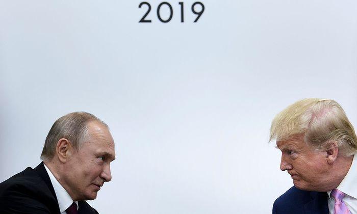 Vladimir Putin und Donald Trump beim G20-Gipfel im japanischen Osaka