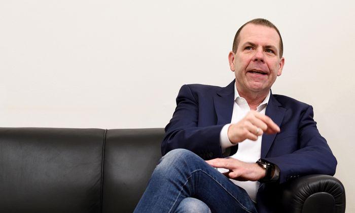 """FPÖ-Kandidat Vilimsky will """"den österreichischen Weg europäisieren""""."""
