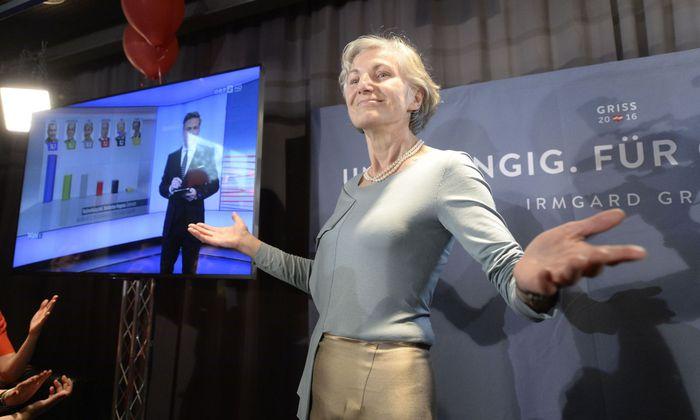 Startet am Sonntag ihre neue Sendung: die ehemalige Hofburg-Kandidatin Irmgard Griss.