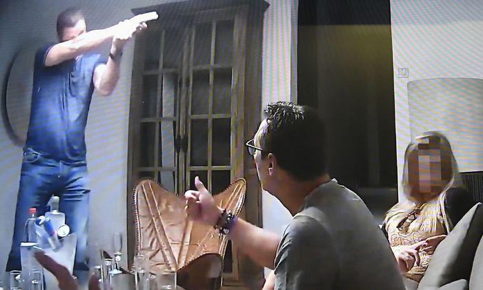 Eine Szene aus dem 'Ibiza- Video', das dem Spiegel und der Süddeutschen Zeitung zugespielt wurde.