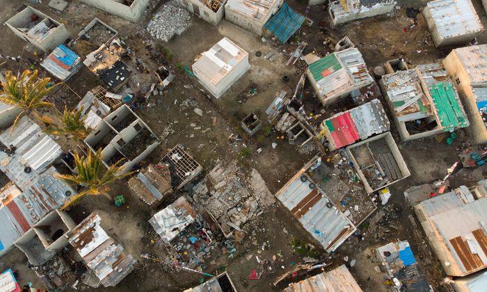 Mosambik nach dem Zyklon.