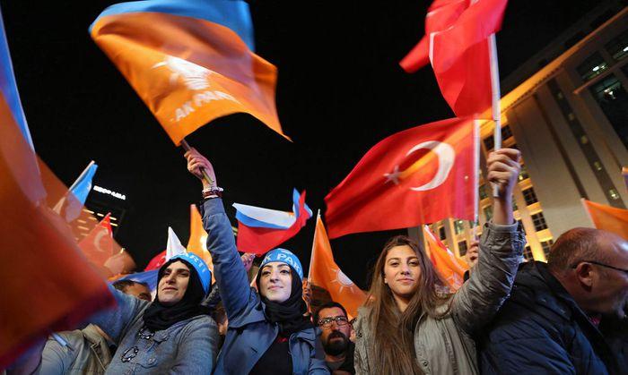 Themenbild: Wahltag in Ankara