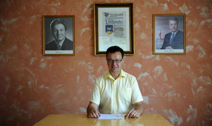 Bürgermeister Gerhard Lindbichler