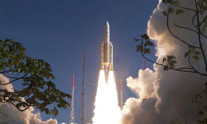 FRENCH GUIANA SPACE ARIANE LAUNCH