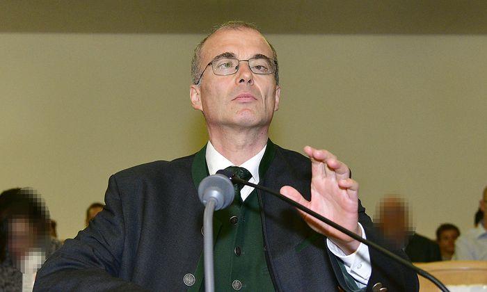Franz Radl am Donnerstag vor Gericht