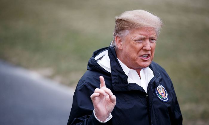 Trump am Freitag in Washington