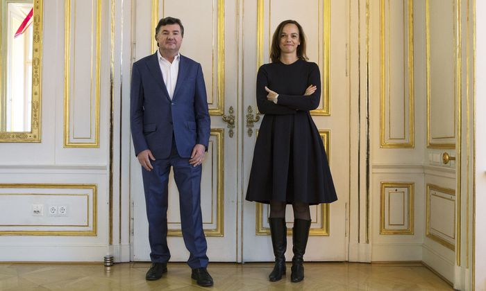 Andreas Salcher, Sonja Hammerschmid