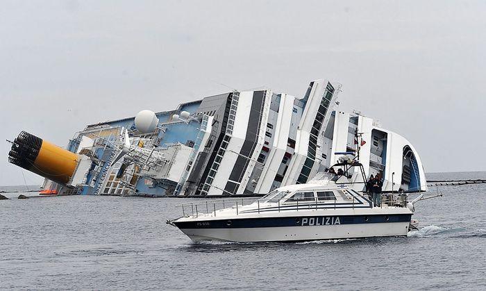 Costa Concordia: Ermittlungen gegen fünf Manager