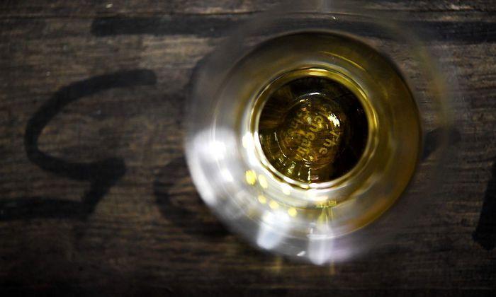 Archivbild. Whiskey als Mittel zu innerer Einkehr.