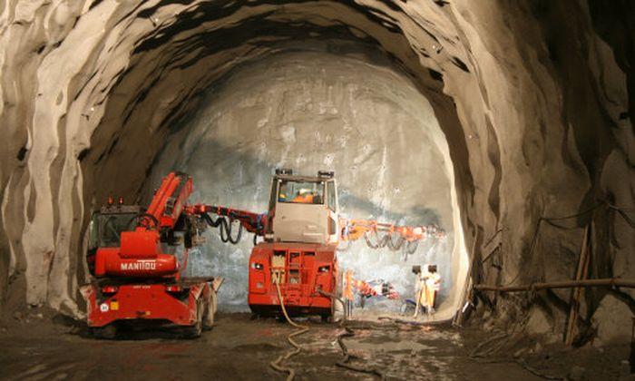 Sprengvortrieb für den Brennerbasistunnel