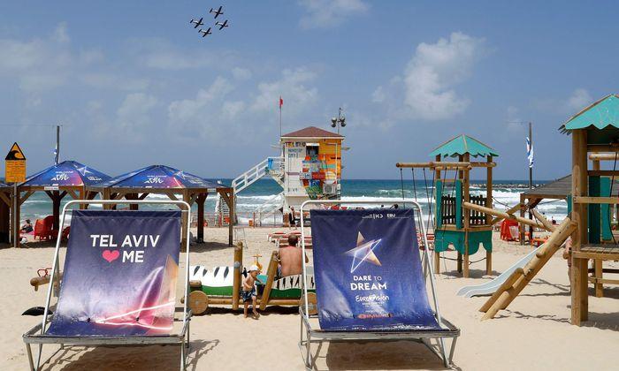 Tel Aviv ist bereit für das große Wettsingen des zweifelhaften Geschmacks.