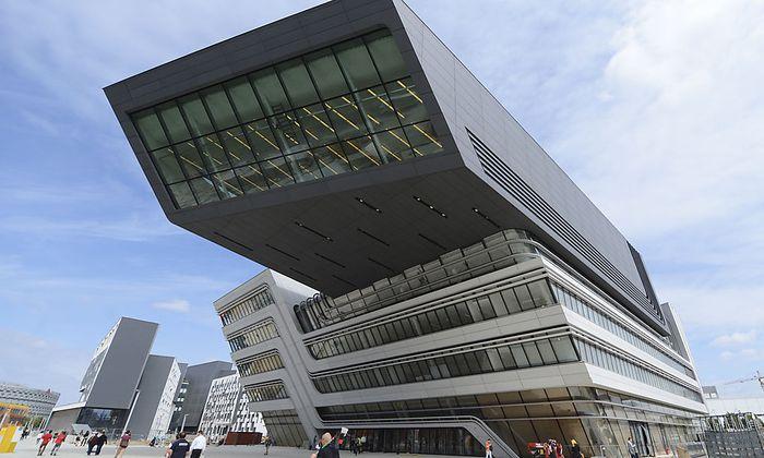 Symbolbild: Learningcenter der neuen WU in Wien