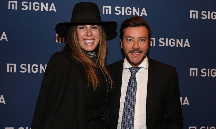 Rene Benko mit seiner Frau Nathalie