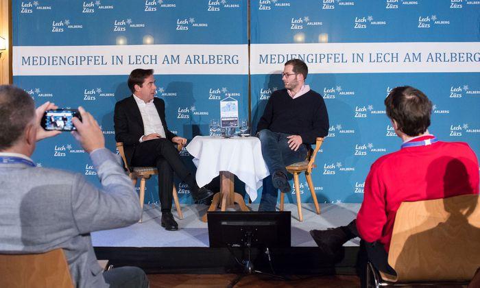 Rainer Nowak bat Julian Reichelt zur Pressestunde