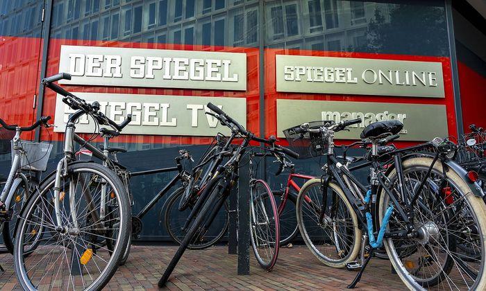 Der Spiegel Verlag in Hamburg publishing house in Hamburg *** The Spiegel publishing house in Ham