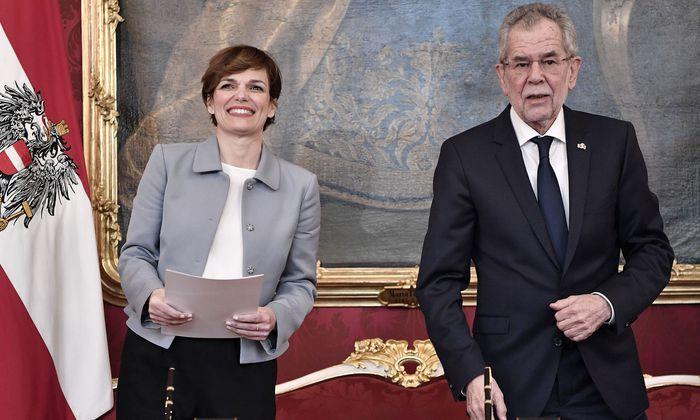 Rendi-Wagner und Van der Bellen