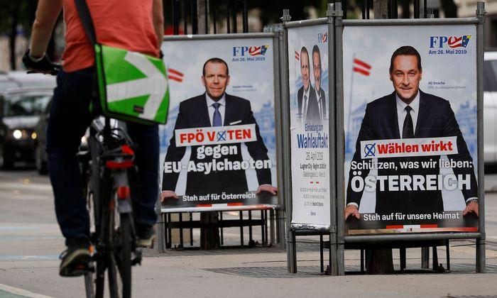 Generalsekretär Harald Vilimsky (l.) und FPÖ-Chef Heinz-Christian Strache fühlen sich in Medienberichten oft unfair behandelt.