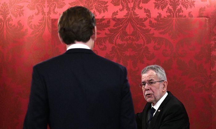 13. Bundeskanzler der Zweiten Republik: Am Montag, um elf Uhr, wird Sebastian Kurz von Bundespräsident Alexander Van der Bellen angelobt.