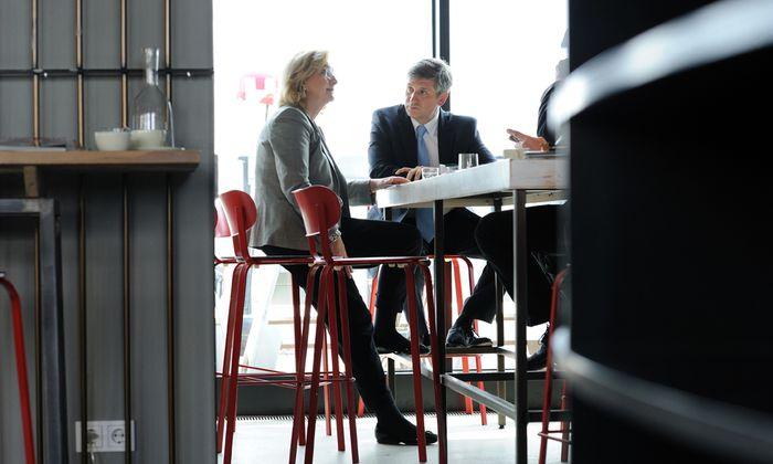 Vizekanzler Spindelegger und Finanzministerin Fekter