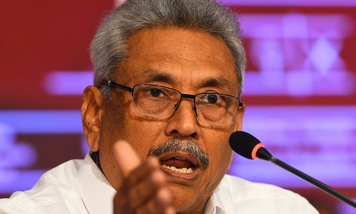 Neuer Präsident: Gotabaya Rajapaksa.