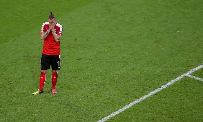Enttäuschung bei Marko Arnautovic