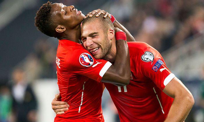 SOCCER - UEFA EURO 2016 quali, SUI vs SMR