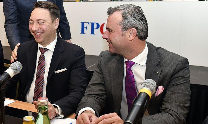 FPÖ-Präsidium mit Haimbuchner und Hofer tagt an unbekanntem Ort.