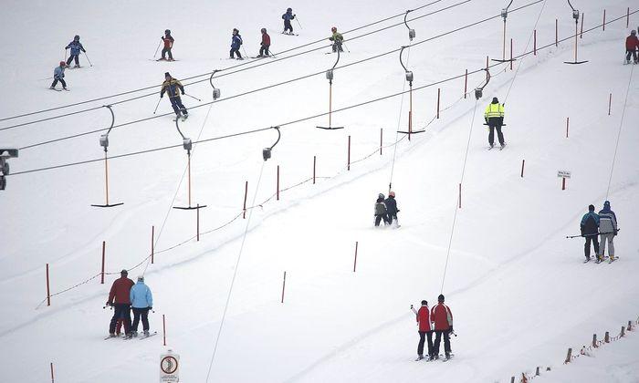 6000 Skifahrer folgten dem Ruf und waren am Wochenende auf insgesamt fünf Pistenkilometern unterwegs.