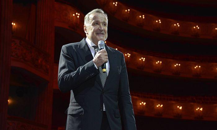 Nikolaus Bachler M�nchen 16 09 14 Oper B�hnen Dinner