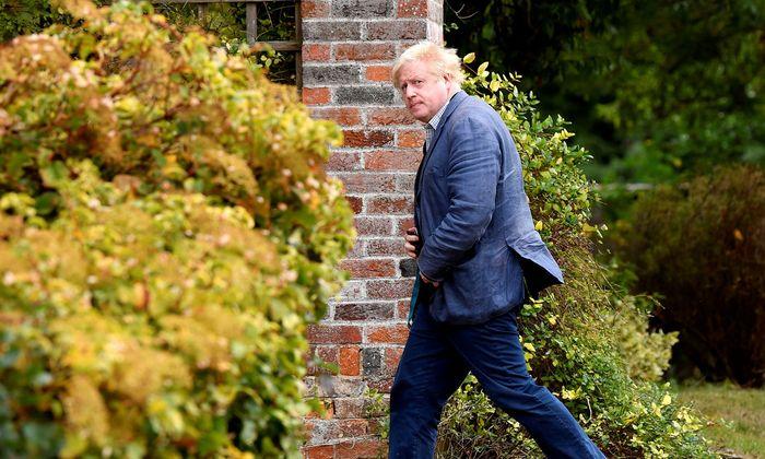 Boris Johnson drängt es nicht. Er hat sich den Rebellen gegen May (noch) nicht öffentlich angeschlossen.