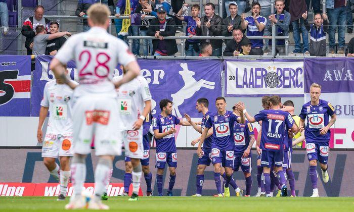 FUSSBALL: TIPICO-BUNDESLIGA / MEISTERRUNDE: FK AUSTRIA WIEN - RZ PELLETS WAC