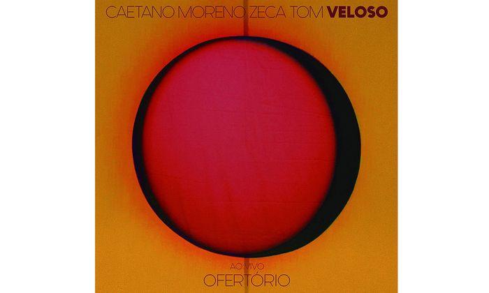 """Caetano Moreno Zeca Tom Veloso: """"Ao Vivo Ofertório"""""""