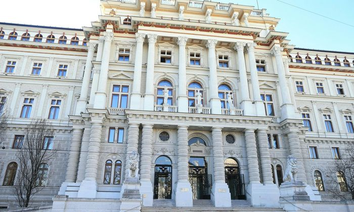 Sitz des Obersten Gerichtshofs.