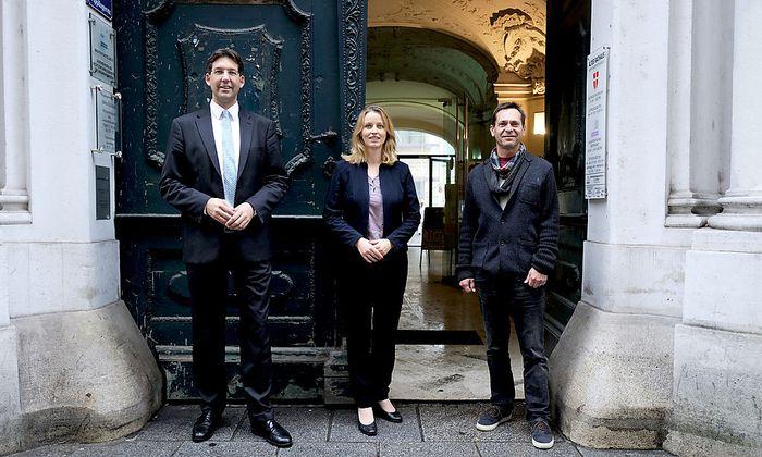 Figl, Ecker-Stepp und Hirschenhauser rittern um den Einzug ins Alte Rathaus.