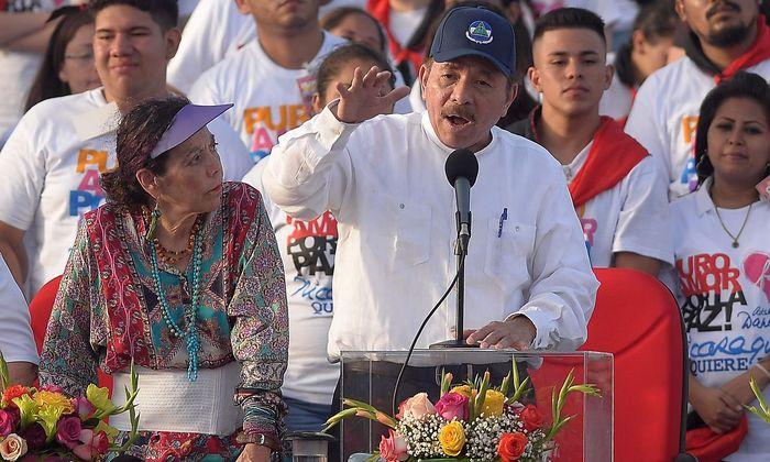 Präsident Daniel Ortega