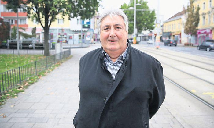 Paul Stadler, seit 1996 stv. Bezirksvorsteher von Simmering, hofft darauf, der erste blaue Bezirkschef Wiens zu werden.