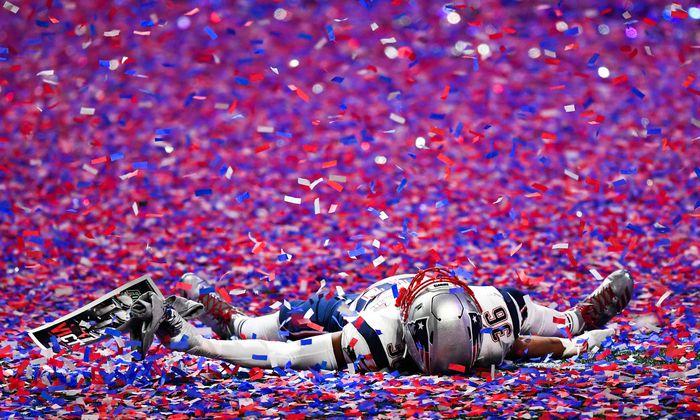 Brandon King (36), New England Patriots