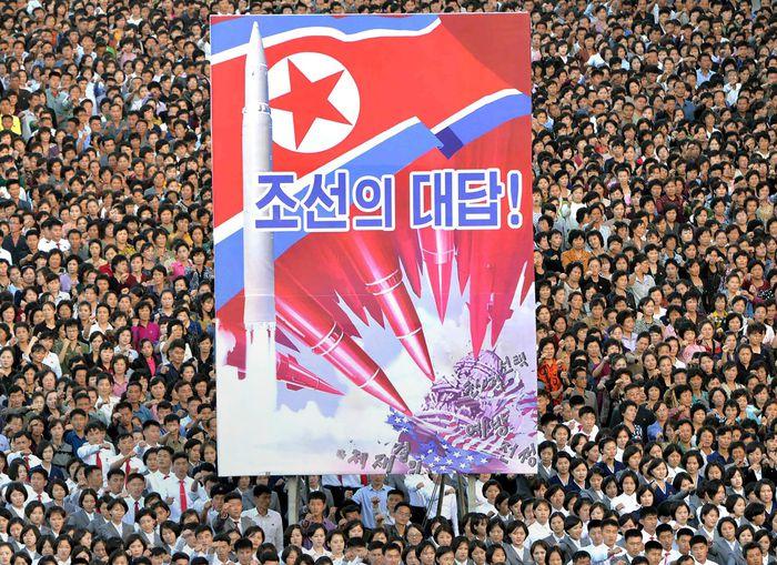 Nordkorea macht Front gegen die USA