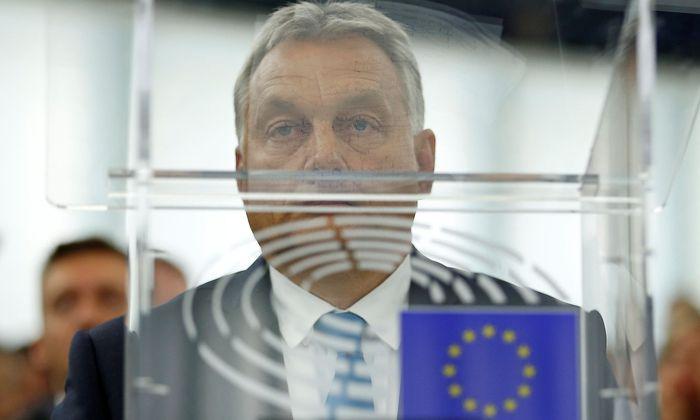 Ungarns Premier Orban im EU-Parlament