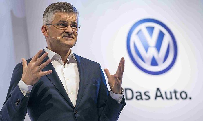 US-Vorstandschef von VW, Michael Horn