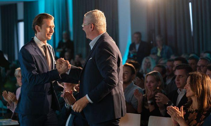 Thomas Steiner als ÖVP-Landesparteiobmann im Burgenland bestätigt