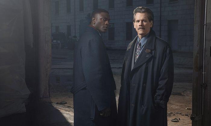 DeCourcy Ward (Aldis Hodge) und Jackie Rohr (Kevin Bacon) als ungleiches Polizistenduo.