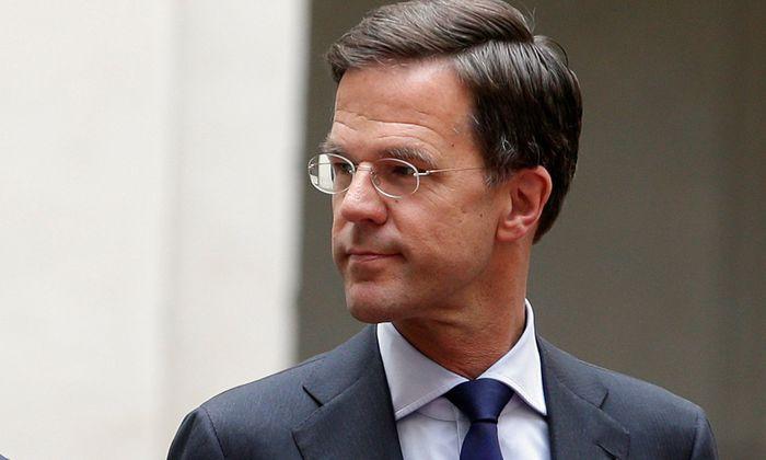 Der niederländische Ministerpräsident, Mark Rutte.