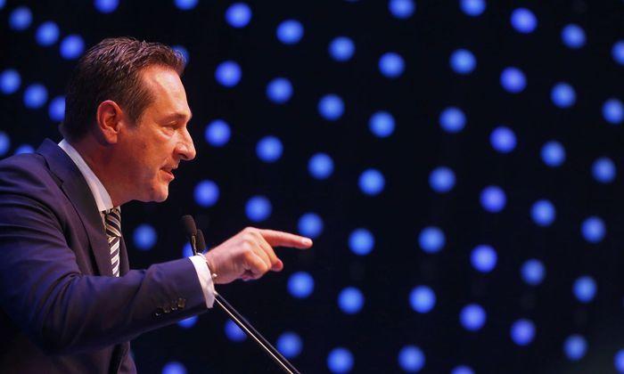 FPÖ-Chef und Vizekanzler Heinz-Christian Strache