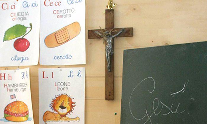 Urteil gegen Italien: Richter verbannen Kreuze aus Klassen