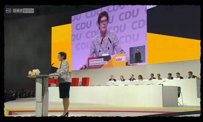Was Maschek zum Namen der neuen CDU-Chefin einfällt? So einiges.