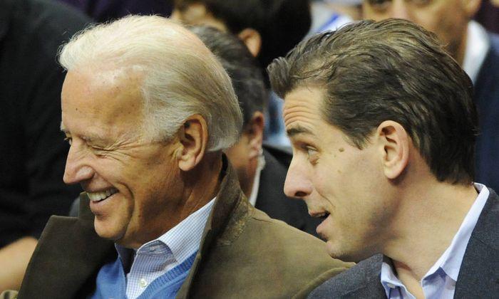 Joe und Hunter Biden.